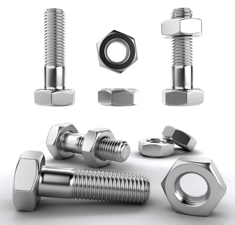 examples of stainless steel fasteners